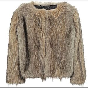 Whistles faux fur